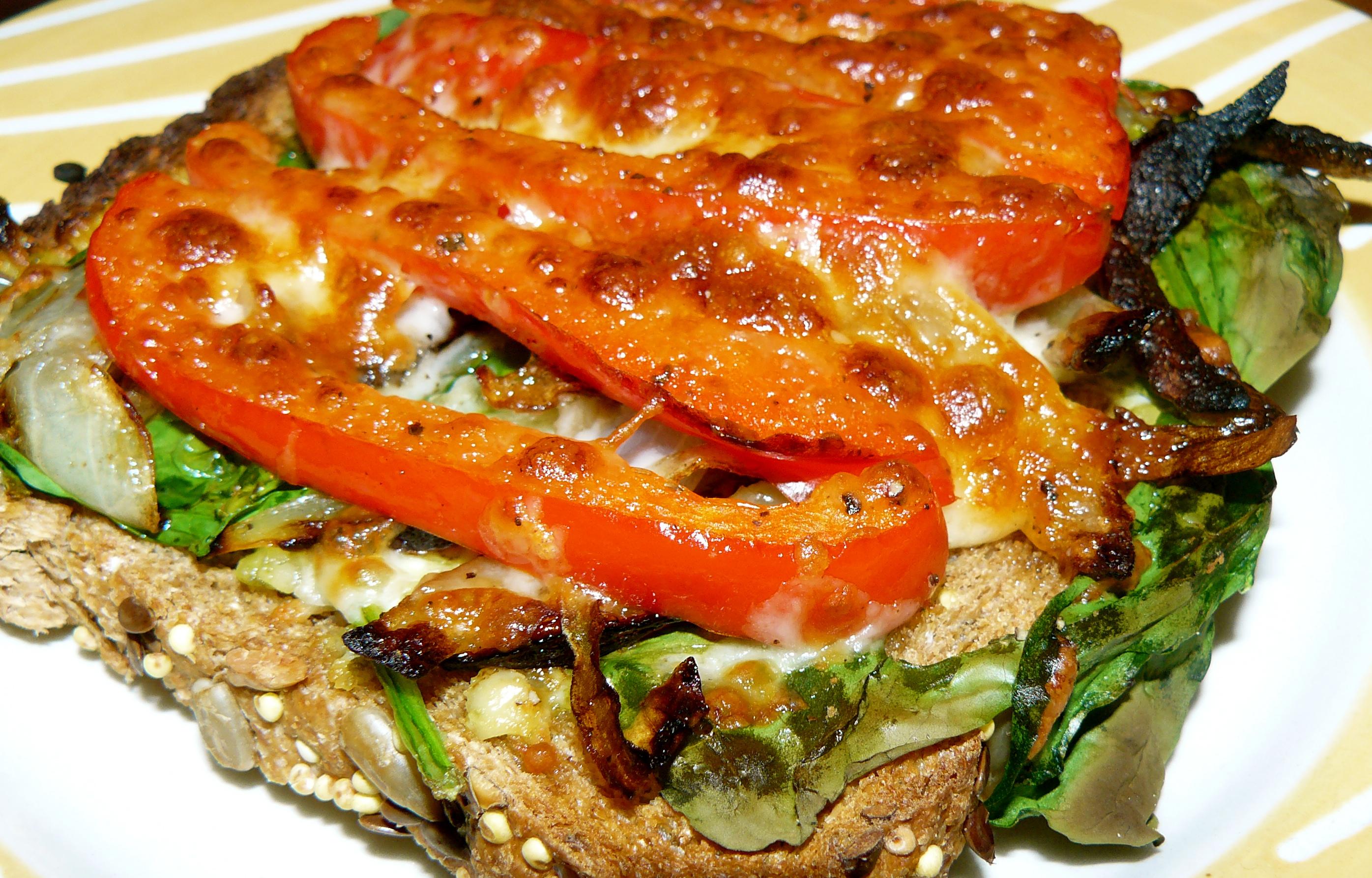 Oven-Baked Veggie Melts